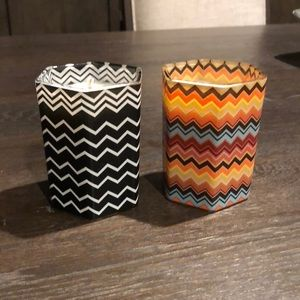 Missoni For Target Candles.  Limited Edition